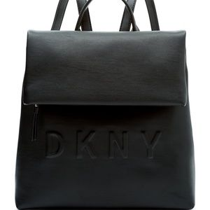 NWT DKNY Tilly BackPack in black